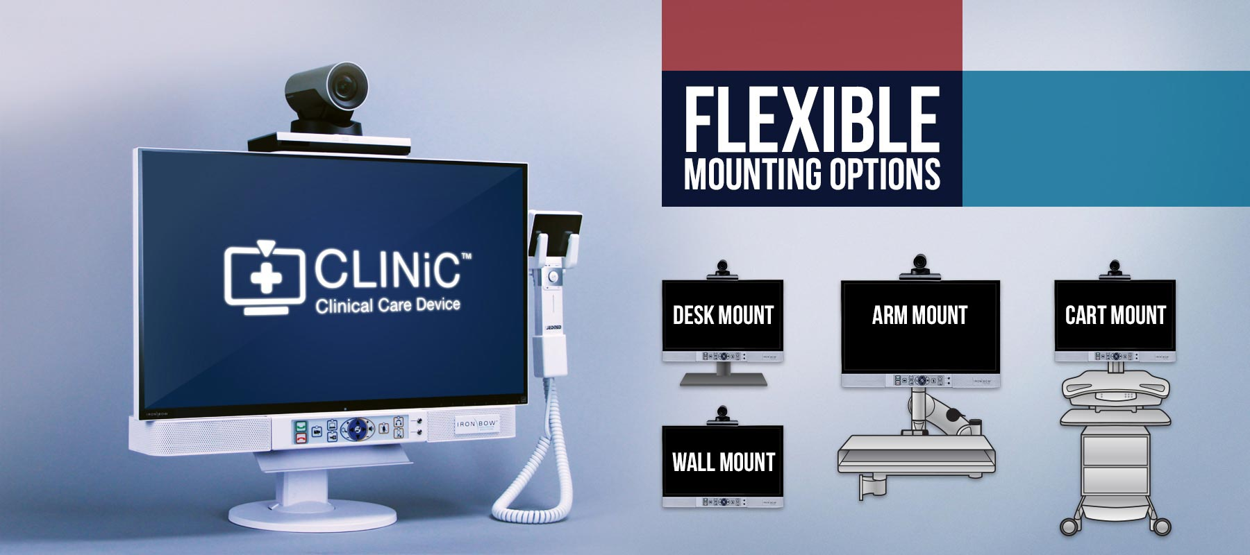 Flexible Mounting Options